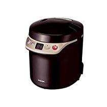 【特価】 ひとり分でも美味しく炊ける! コイズミ 小型炊飯器 ライスクッカーミニ ブラウン (0.5~1.5合) KSC-1511/T【家電・生活】