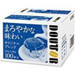 ★【プライム会員限定】ドトールコーヒー ドリップコーヒー オリジナルブレンド 100Pが3,121円!