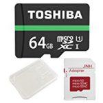 【特価】東芝 Toshiba 超高速UHS-I microSDXC 64GB + SD アダプター + 保管用クリアケース [並行輸入品] 【メモリカード】