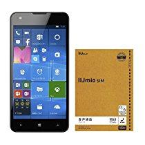 【格安スマホ】マウスコンピュータ 5インチ Simフリー Windows Phone  MADOSMA Q501A-WH IIJmio 音声SIM付セット 4,154円【スマホ/携帯関連】