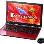 「PT65PRS-BHA3」 Win 8.1+Core i5-5200U搭載15.6型dynabookが特価販売中