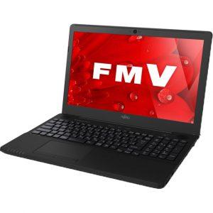 「FMVA42B1B」 Celeron 3865U+Office H&B搭載15.6型LIFEBOOKが特価販売中