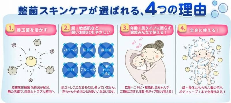 洗うほどうるおうノンシリコン アミノ酸シャンプー【アビスタシリーズ】