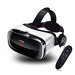 【特価】スマホ用 3D VR ゴーグル イヤホン・リモコン・ヘッドバンド付き 軽量 超3D映像効果 視野角調節 近視対応 4.0~6.3インチスマホ対応 2,533円【スマホ/携帯関連】