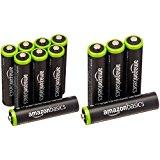 「充電式ニッケル水素電池 単4形12個パック」 最小容量750mAhの電池が特価販売中