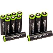 【特価】 Amazonベーシック 充電式ニッケル水素電池 単4形12個パック (最小容量750mAh、約1000回使用可能) 1,744円【家電・生活】