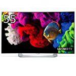「55EG9100」 カーブドスクリーン採用の55V型有機ELテレビが特価販売中