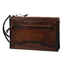 【特価】 32%オフ Raffaello 一流の革職人が作る 古代の革素材をエイシェントロイヤル製法で染色したメンズセカンドバッグ ラファエロ【ファッション】