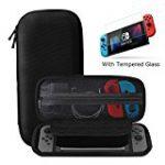 「Nintendo Switch ケース」 強化ガラス付きのケースが2色で特価販売中