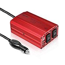 【特価】BESTEK カーインバーター 300W シガーソケット 車載充電器 USB 2ポート ACコンセント 2口 MRI3010BU-E04 2,278円【スポーツ/カー用品/アウトドア】