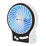 「MF002W」 外出先で使用可能なバッテリー内蔵のUSB扇風機が2色で特価販売中