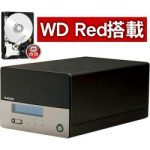 「NSB-3MS8T2BLV」 NASware搭載のWD Red採用8TB NASが特価販売中