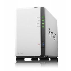 【特価】Synology DiskStation デュアルコアCPU搭載 多機能パーソナルクラウド 2ベイNASキット DS216j 20,970円【周辺機器・サプライ】