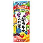 【訳あり特価】カゴメ 朝のフルーツこれ一本 200ml×24本 1,530円【食品・飲料】