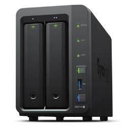 Synology DiskStation DS718+ 2ベイNASサーバー 39,980円 【NTT-X Store】