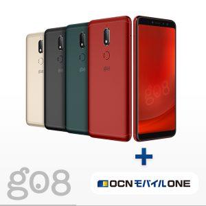 ★【gooのスマホ g08】SIMフリーのMSM8937搭載5.7型スマホが特価販売中